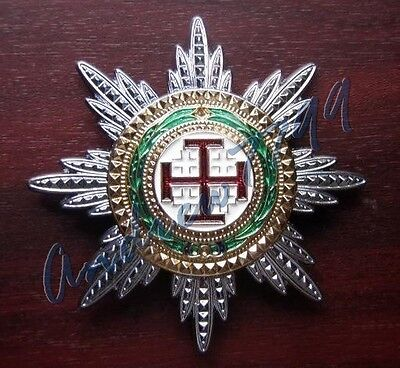 Star of the Equestrian Order of the Holy Sepulchre of Jerusalem - Vatican
