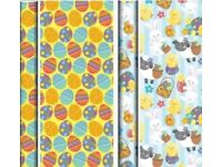 Easter wrapping gift paper