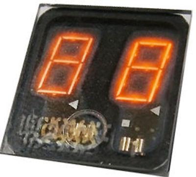 Sperry Rand SP 336 Panaplex, 2 x 7 Segment Digits, Nixie (Neon) Display, NOS