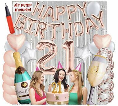 21st Birthday Decorations 21 Birthday Party Supplies 21 sash