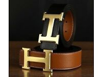 BRAND NEW LEATHER QUALITY HERMEES BELTS