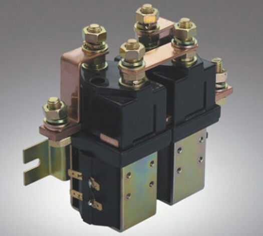 Duty 24V 400A Solenoid Albright SW202 type Reversing Contactor Two change 24volt