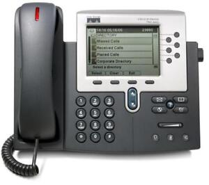 Polycom and Cisco IP Phones in good and working condition