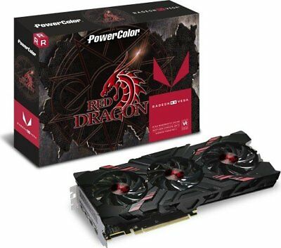 PowerColor Radeon RX Vega 56 Red Dragon | 8GB HBM2 |  HDMI | GAMING Grafikkarte
