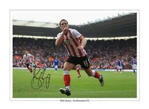 BILLY SHARP - SOUTHAMPTON FC  - HUGE 16X12