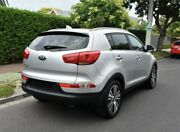 2014 Kia Sportage SL MY14 Platinum AWD Silver 6 Speed Sports Automatic Wagon Medindie Walkerville Area Preview