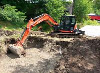 Excavation, Maitre paysagiste 514-473-4269 Estimation Gratuite