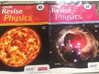 Physics AS & A2 OCR revision books