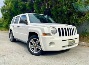 2009 Jeep Patriot MK MY09 Sport White 6 Speed CVT Auto Sequential Wagon Strathfield Strathfield Area Preview