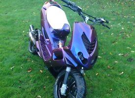Yamaha earox 70cc modified one-off