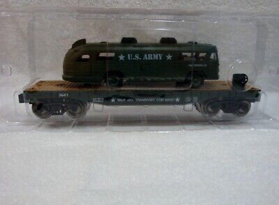 Menards O Gauge Limited Edition U S Army Flatcar And Bus