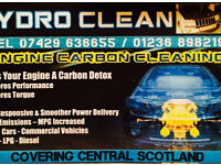 Engine carbon cleaning service