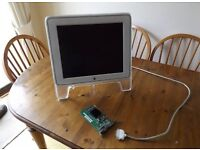 Apple Power iMac G4 LCD screen and graphics card