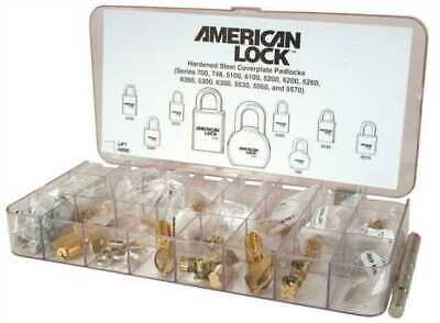 American Lock Padlock Service Pin Kit Re-keying Locksmith Pinning Tool