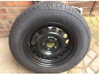 New caravan spare tyre