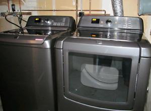 Maytag bravos xl washer and dryer set