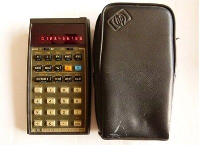 HP 38C CALCULATOR -  WORKING 100%