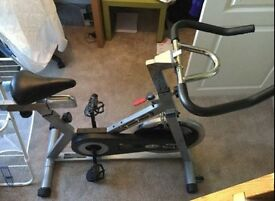 Second hand Trojan exercise spinning bike