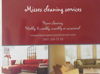 Misses Cleaning Services !