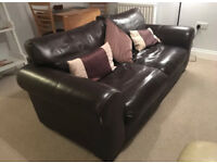 3 seater leather sofa can deliver
