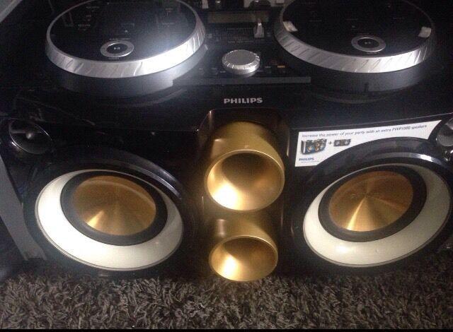 Philips FWP3200D DJ Mix boom Box Speaker