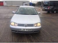 VW GOLF 1.9TDi GT Spares or Repair 2002
