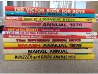 11 Classic Children's Annuals