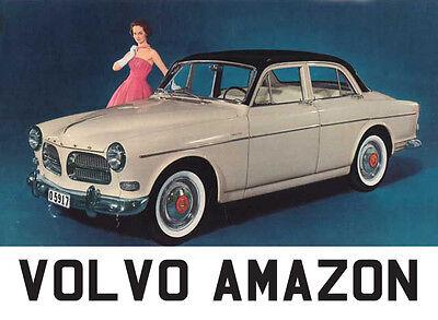 Volvo Amazon 121 122 122S Carpet Set - Superior Deep Pile, Latex Backed