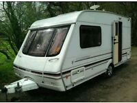 Swift challenge 2001 480-2 berth in mint condition with awning and moter mover