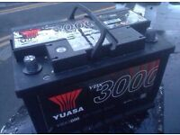 BRAND NEW HEAVY DUTY CAR/VAN BATTERY FULLY CHARGED