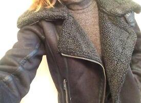 Womens biker jacket (Top Shop)