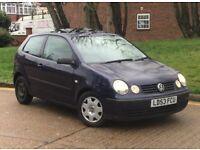 Volkswagen Polo 1.2 Petrol 2003 1 Year Mot