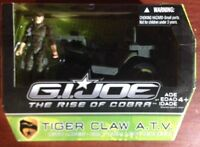 GI Joe The Rise of Cobra ROC Tiger Claw ATV w/ Leatherneck