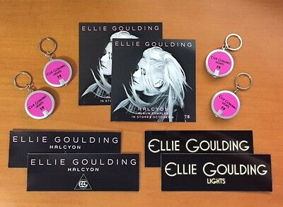 ELLIE GOULDING Promotional Package for Halcyon & Lights