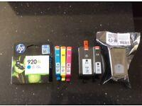 HP 920XL printer cartridges