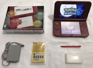 NEW_3DS_XL - With Many Games_Pokemon SUN / MOON & More...