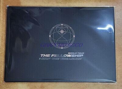 ATEEZ World Tour The Fellowship : Map The Treasure GOODS MINI POSTER SET SEALED