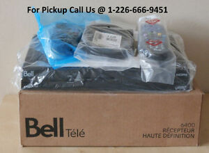 NEW Bell TV 6400-G2 HD Receiver -PVR ready ** BRAND NEW-SEALED