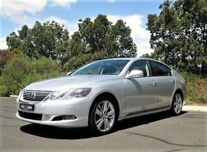 2011 Lexus GS450H GWS191R MY10 Silver 1 Speed Constant Variable Sedan Hybrid Enfield Port Adelaide Area Preview