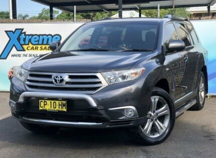 2013 Toyota Kluger GSU40R MY12 KX-S Grey Sports Automatic Wagon Campbelltown Campbelltown Area Preview
