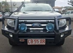 2011 Ford Ranger PX XLT Double Cab Grey 6 Speed Manual Utility Berrimah Darwin City Preview