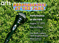Scarborough Arts' Performance at the Park