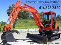 Tractor Harry Excavation