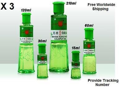Eagle Brand Minyak Kayu Putih Cap Lang Eucalyptus Cajuput Baby oil 30/60/120 ml