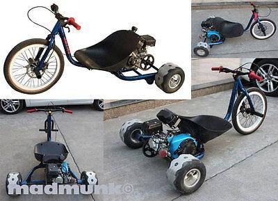7.5hp four stroke petrol  3 wheel drift bike, pit bike. trike, new