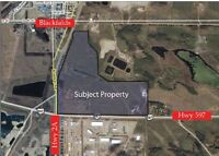 2.10 Acres FOR LEASE Heavy Industrial in Blackfalds