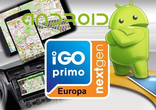 IGO Android Nextgen Navigation Software Q4-Okt.-Dez .2018 SD Karte*