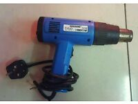 SILVERLINE HEAT HOT AIR GUN WALL PAPER STRIPPER BLOWER 2000W