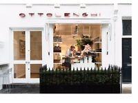 Kitchen assistant- Ottolenghi Notting Hill