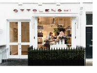 Experienced Pastry Chef- Ottolenghi Notting Hill- 5 days a week, no doubles